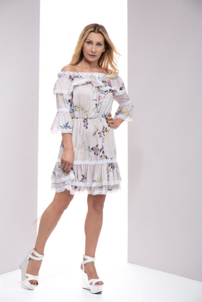 Sukienka LoLa kwiaty, sukienka LoLa LuLu, Sukienka LuLu, Sukienka letnia, sukienka na lato, sukienka na randkę