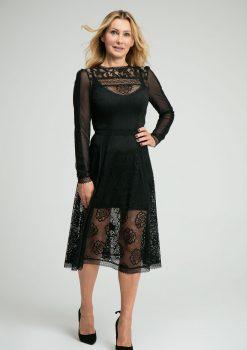 sukienka elegancka, eventowa, bankietowa, sukienka koronkowa,