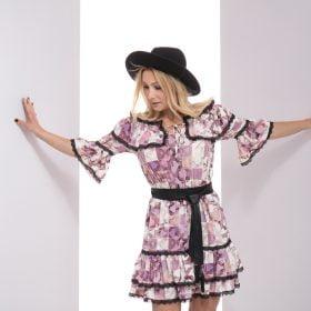Sukienka LoLa fioletowa, sukienka LoLa LuLu, Sukienka LuLu, Sukienka letnia, sukienka na lato, sukienka na randkę