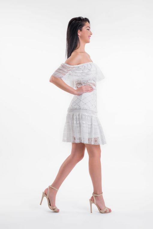 Sukienka Letitia, sukienka lulu, sukienka koronkowa, sukienka balowa, sukienka exclusive, sukienka VIP, sukienka hiszpanka