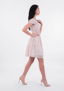 Sukienka Abigail, sukienka LuLu, sukienka koronkowa, sukienka VIP, sukienka koktajlowa, sukienka różowa, sukienka pastelowa