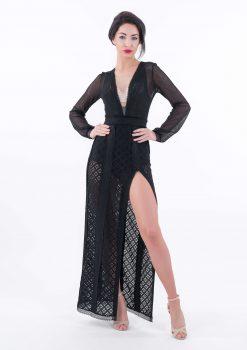 Sukienka Izabelle, sukienka balowa, sukienka koronkowa, sukienka exclusive, Sukienka VIP