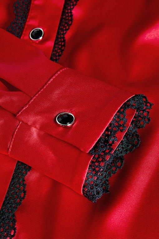 Koszula Darcy z elementami koronki, ekskluzywna koszula, koszula limitowana, koszula przedłużana, koszula od polskiej projektantki, koszula idealna na prezent, koszula od LuLu by Adriana Okoń